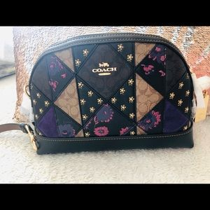 Coach signature mixed crossbody